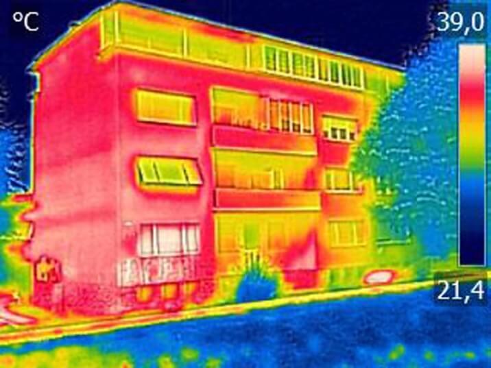 warmteverlies muur appartement